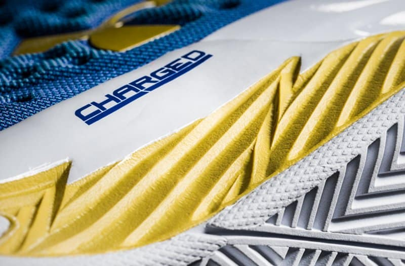 charged cushioning Materiály Under Armour